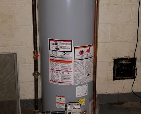 50 Gallon Gas Water Heater 2