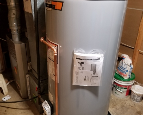 75 gal gas water heater