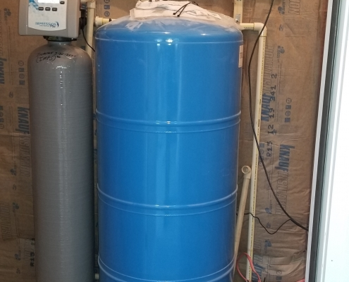 New Well Tank and Air Sulfer System